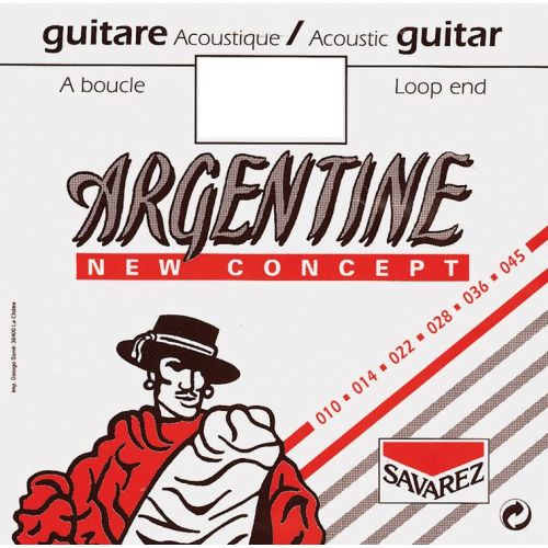 SAVAREZ ACOUSTIC 1510MF ARGENTINE LIGHT A BOUCLE 11 15 23 29 37 46