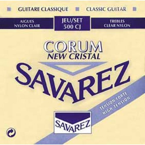 SAVAREZ 500CJ CRISTAL CORUM BLAU HIGH TENSION