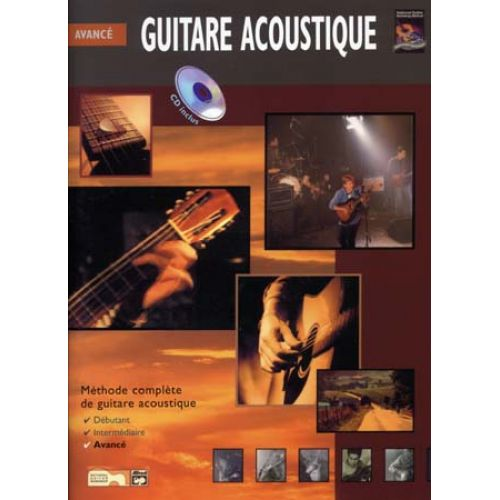 VOLONTE&CO GUITARE ACOUSTIQUE AVANCE CD
