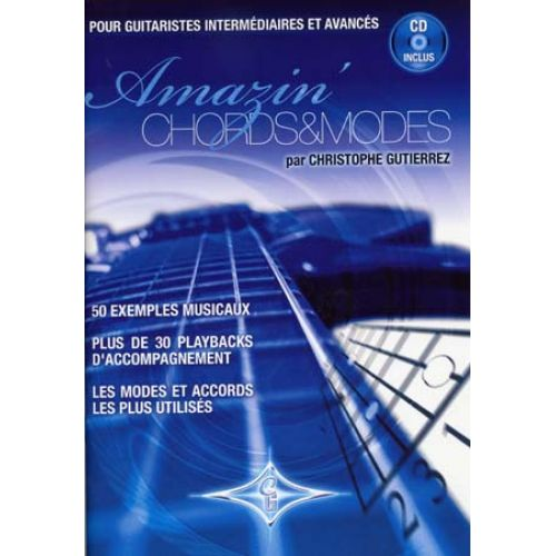 ID MUSIC AMAZIN' CHORDS AND MODES C. GUTIERREZ GUITARE CD
