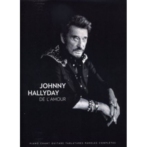 BOOKMAKERS INTERNATIONAL HALLYDAY JOHNNY - DE L'AMOUR - PVG TAB