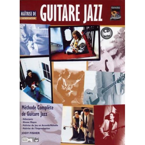 VOLONTE&CO FISHER JODY - GUITARE JAZZ MAITRISE DE L'IMPROVISATION + CD - GUITARE