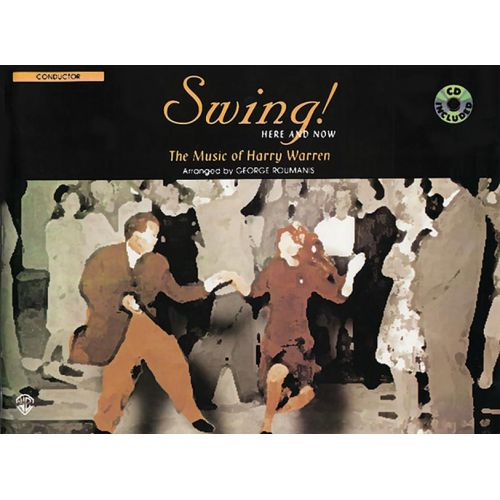 ALFRED PUBLISHING WARREN H. - SWING! HERE AND NOW + CD - SCORE
