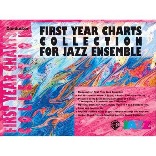 ALFRED PUBLISHING FIRST YEAR JAZZ COLLECTION - BARITONE SAXOPHONE