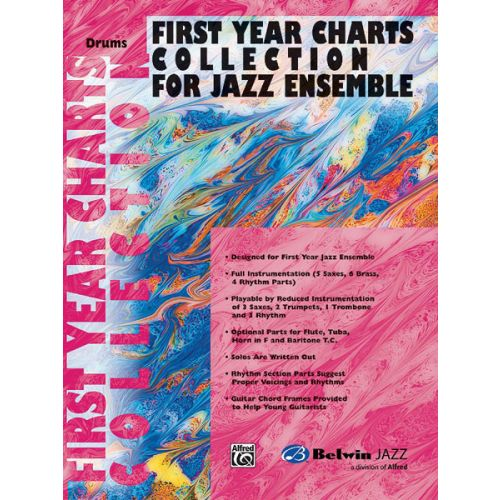 ALFRED PUBLISHING FIRST YEAR JAZZ COLLECTION - DRUMS