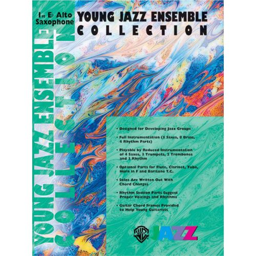 ALFRED PUBLISHING YOUNG JAZZ ENSEMBLE COLLECTION 1 - ALTO SAXOPHONE