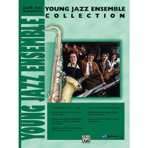 ALFRED PUBLISHING YOUNG JAZZ ENSEMBLE COLLECTION - ALTO SAXOPHONE 2