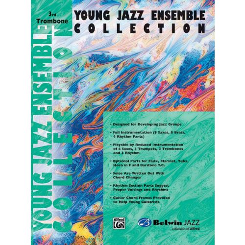 ALFRED PUBLISHING YOUNG JAZZ ENSEMBLE COLLECTION - TROMBONE 3