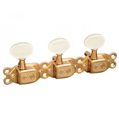 SCHALLER MACHINE HEAD ORIGINAL CLASSIC DELUXE GOLD
