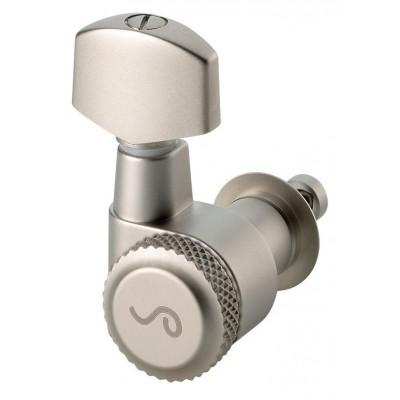 SCHALLER MACHINE HEAD M6 PIN 6 LINKS SATINPEARL BLOCKING BACK