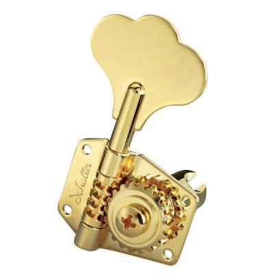 SCHALLER MACHINE HEAD BM 3 LEFT/ 2 RIGHT GOLD