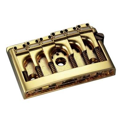 SCHALLER SC530.556 E-GUITAR BRIDGE 3D-6 PIEZO GOLD