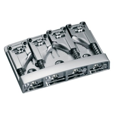 SCHALLER E-BASS BRIDGE 3D-4 4-STRING CHROM