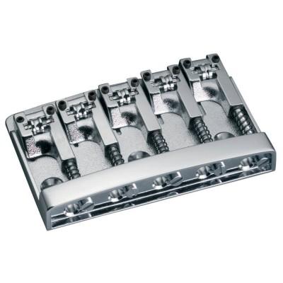 SCHALLER E-BASS BRIDGE 3D-5 5-STRING CHROM
