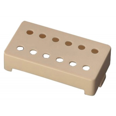 SCHALLER PICKUP ACCESSORIES COVER 12-HOLE BRIDGE ABS SYNTHETIC MATERIAL CRÈME