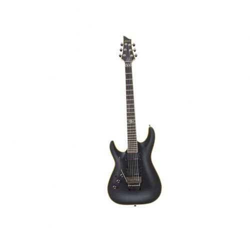 SCHECTER LINKSHAENDER BLACKJACK ATX C 1FRAGED BLACK SATIN
