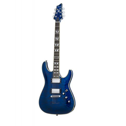 SCHECTER C 1 CUSTOM SEE THRU BLUE