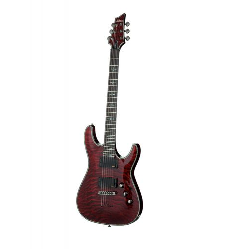 SCHECTER C1 HELLRAISER BLACK CHERRY