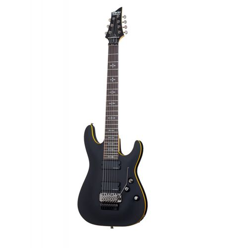 SCHECTER DEMON 7 SATIN BLACK