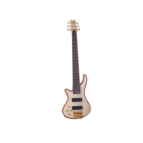 SCHECTER LINKSHAENDER LH STILETTO CUSTOM 6 NATURAL/NATUREL