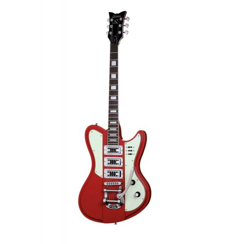 SCHECTER ULTRA III BIGSBY VINTAGE RED
