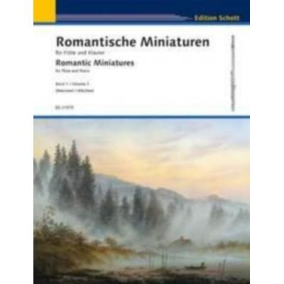 SCHOTT ROMANTIC MINIATURES VOL.1 - FLUTE & PIANO