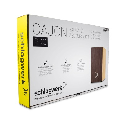 SCHLAGWERK CAJONBAUSATZ/ QUICK ASSEMBLY KIT PRO WENGE, LARGE