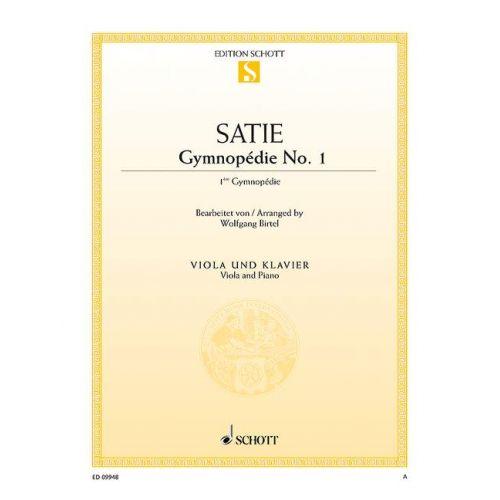 SCHOTT SATIE E. - GYMNOPEDIE NO. 1 - ALTO
