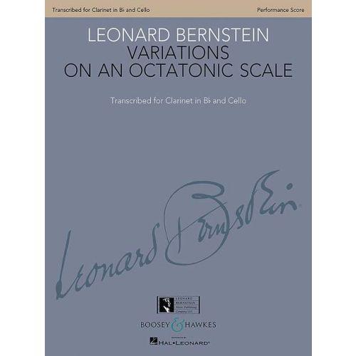 SCHOTT BERNSTEIN L. - VARIATIONS ON AN OCTATONIC SCALE - MUSIQUE DE CHAMBRE