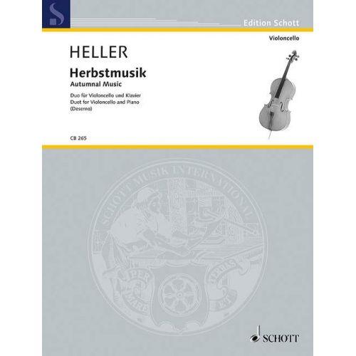 SCHOTT HELLER B. - AUTUMNAL MUSIC - VIOLONCELLE
