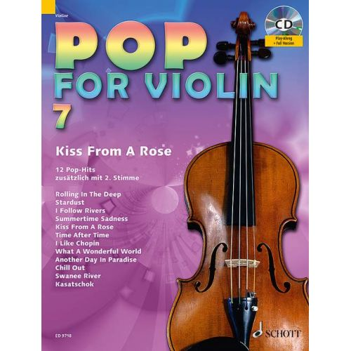 SCHOTT POP FOR VIOLIN BAND 7 - VIOLON