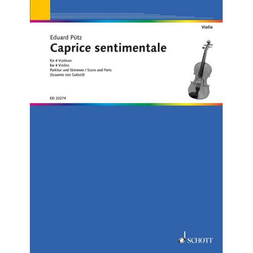SCHOTT PUETZ E. - CAPRICE SENTIMENTALE - VIOLON