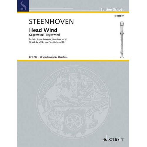 SCHOTT STEENHOVEN K. - HEAD WIND - FLUTE A BEC