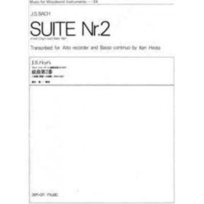 ZEN-ON BACH J.S. - SUITE H-MOLL BWV 1067 - FLÛTE A BEC ALTO ET B.C.