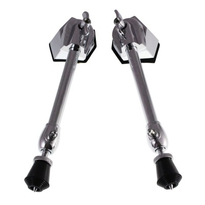 SPAREDRUM BDS4 - ADJUSTABLE STRAIGHT BASS DRUM SPURS (X2)