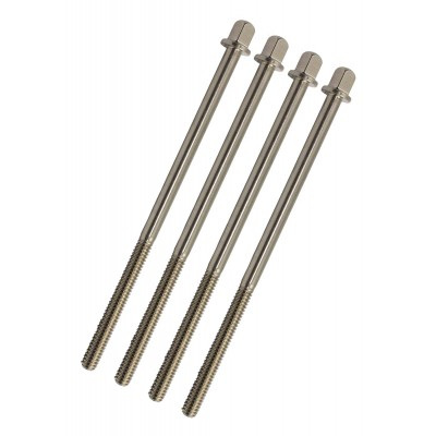 Tension rods for bass drum