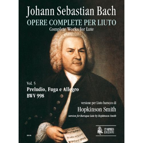 UT ORPHEUS BACH J. S. - COMPLETE WORKS FOR LUTE VOL.5