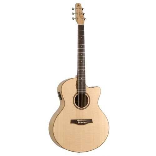 SEAGULL NATURAL ELEMENTS AMBER TRAIL MINI JUMBO CUTAWAY ACI.5T