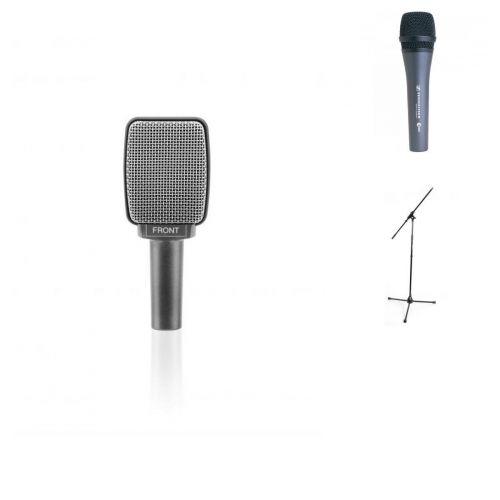 SENNHEISER VOCAL GUITAR BUNDLE E835 + E609 + STANDS