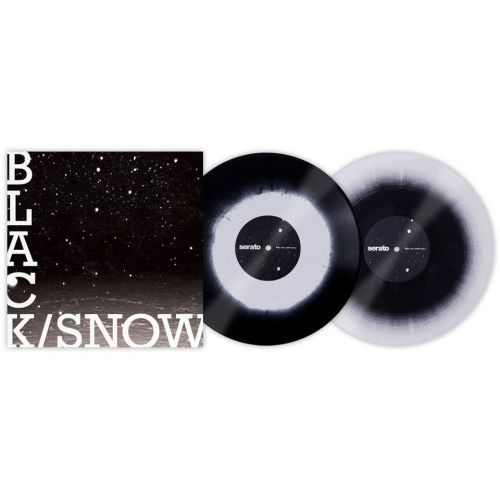 SERATO VINYL BLACK SNOW (PAIR)