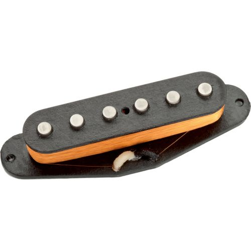 SEYMOUR DUNCAN APS2 - ALNICO II PRO FLAT STRAT OHNE COVER