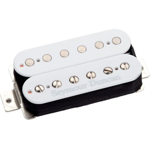 SEYMOUR DUNCAN SH-6B-W - DUNCAN DISTORTION STAFFELEI WEISSES