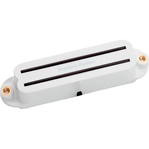 SEYMOUR DUNCAN SHR-1B-W - HOT RAILS STRAT TRESTLE WHITE