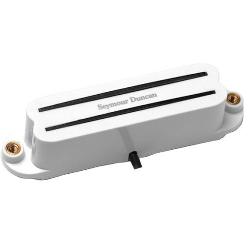 SEYMOUR DUNCAN SHR-1N-W - HOT RAILS STRAT NECK WHITE