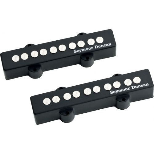 SEYMOUR DUNCAN SJ5-3S - KIT QUARTER-POUND JAZZ BASS 5 SCHWARZ