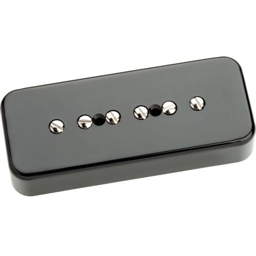 SEYMOUR DUNCAN SP90-2B - HOT P90 STAFFELEI SCHWARZ