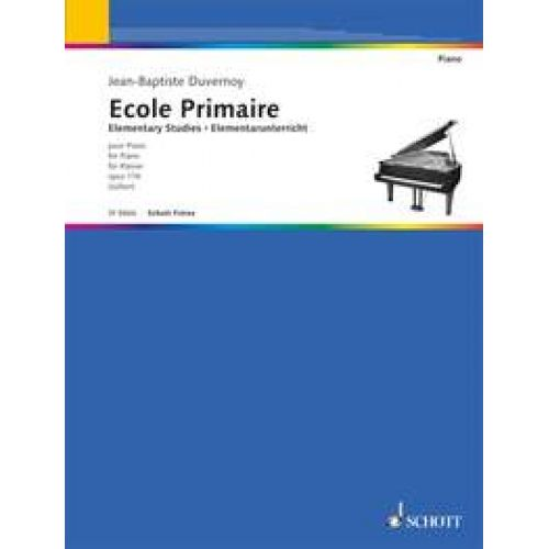 SCHOTT DUVERNOY J.B - ELEMENTARY STUDIES - PIANO