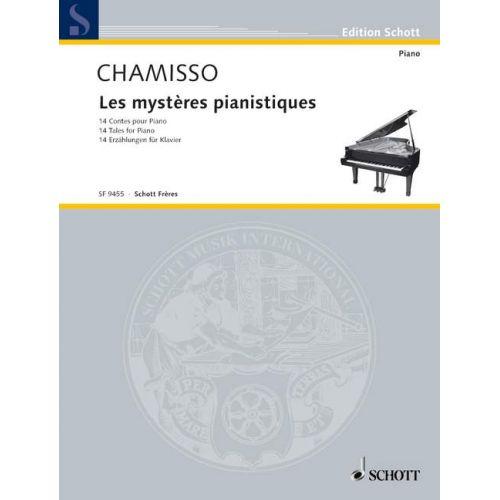 SCHOTT MAYRAN DE CHAMISSO OLIVIER - LES MYSTÈRES PIANISTIQUES - PIANO