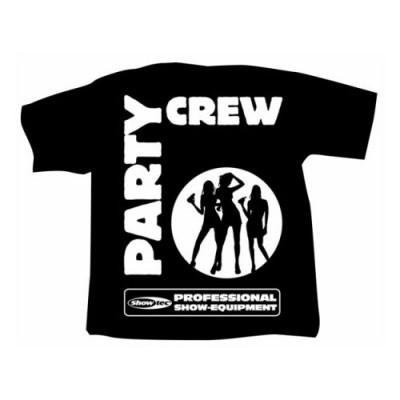 SHOWTEC T-SHIRT PARTYCREW M