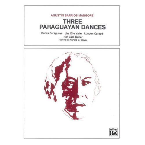ALFRED PUBLISHING THREE PARAGUYAN DANCES - GUITAR